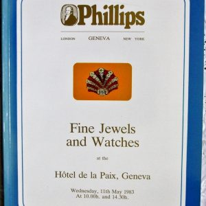 P MALTESE CROSS Fine Jewels and Watches G 11. 05. 1983