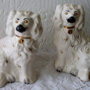 Pair of Royal Doulton Comforter Spaniels