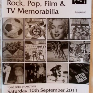 Peacocks Rock Pop Film And TV Memorabilia Bedford 10 September 2011