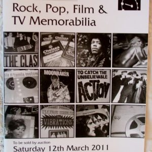 Peacocks Rock Pop Film And TV Memorabilia Bedford 12 March 2011
