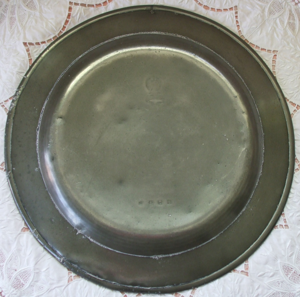 Pewter Dish Charger