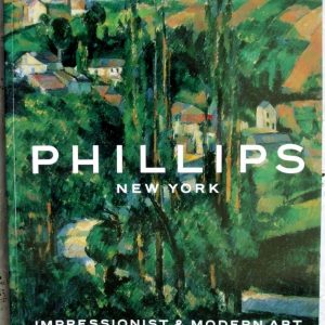 Phillips Impressionist And Modern Art Part I New York 06 November 2000