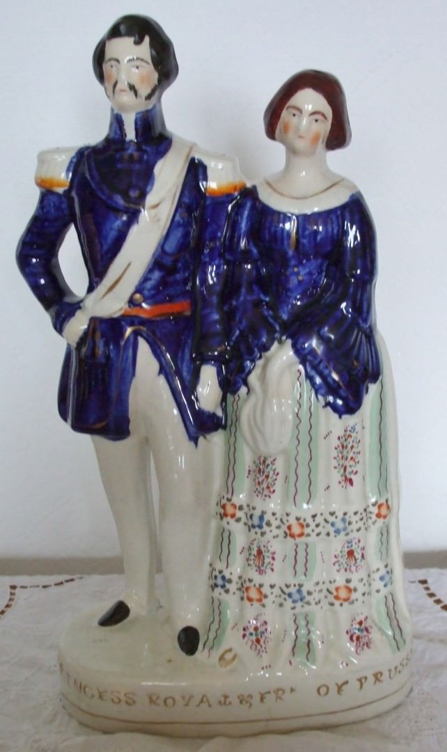 Staffordshire Figure Prince and Princess of Prussia H 658