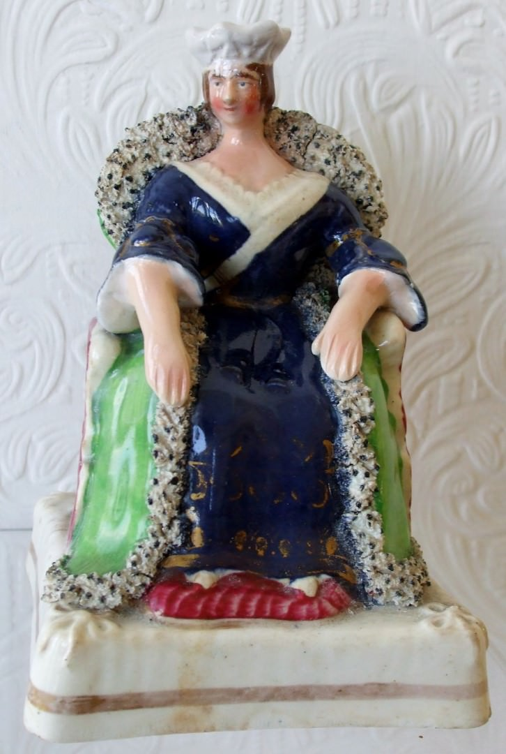 Staffordshire Figure Queen Victoria H 485