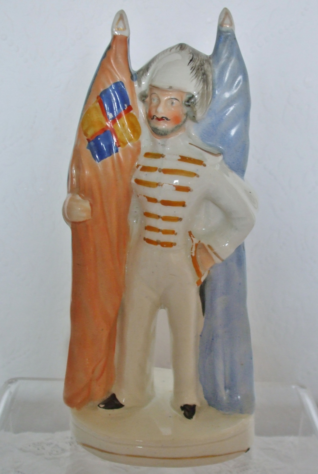 Staffordshire Figure Reversible Sailor Soldier H 813a
