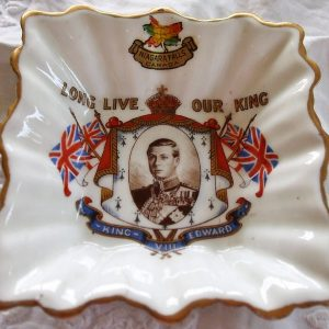 Royal Albert Edward VIII Niagara Falls Dish