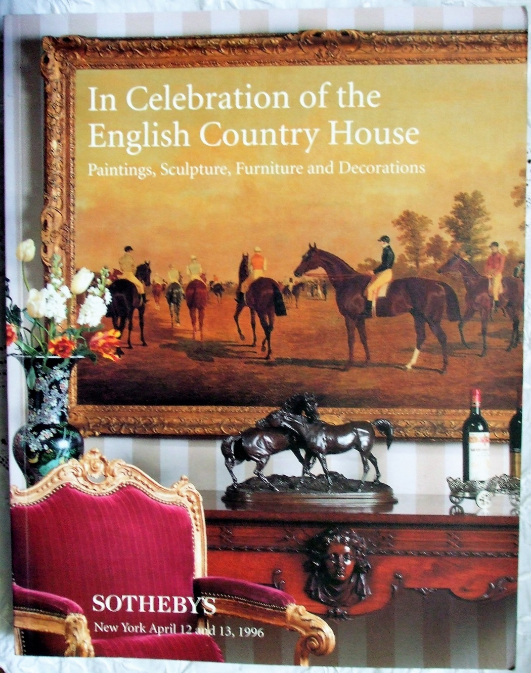 S 6830 EPSOM In Celebration of The English Country House NY 12. - 13. 04. 1996