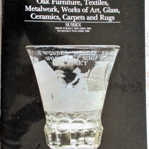 S Antiques and Collectables S 03. to 09. 04. 1990
