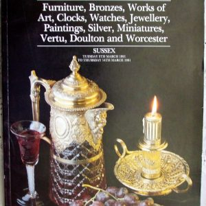 S Antiques and Collectables S 05. to 14. 03. 1991