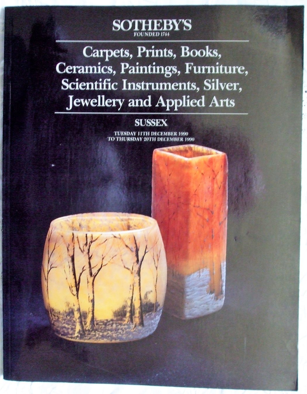 S Antiques and Collectables S 11. to 20. 12. 1990