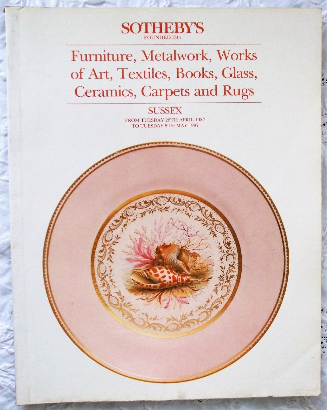 S Antiques and Collectables S 28. 04. to 05. 05. 1987