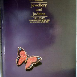 S BUTTERFLY Jewellery and Judaica TA 27. and 30. 04. 1989