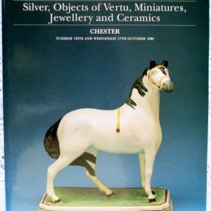 S CHESTER A34 Silver Objects of Vertu Miniatures Jewellery Ceramics C 16. - 17. 10. 1990