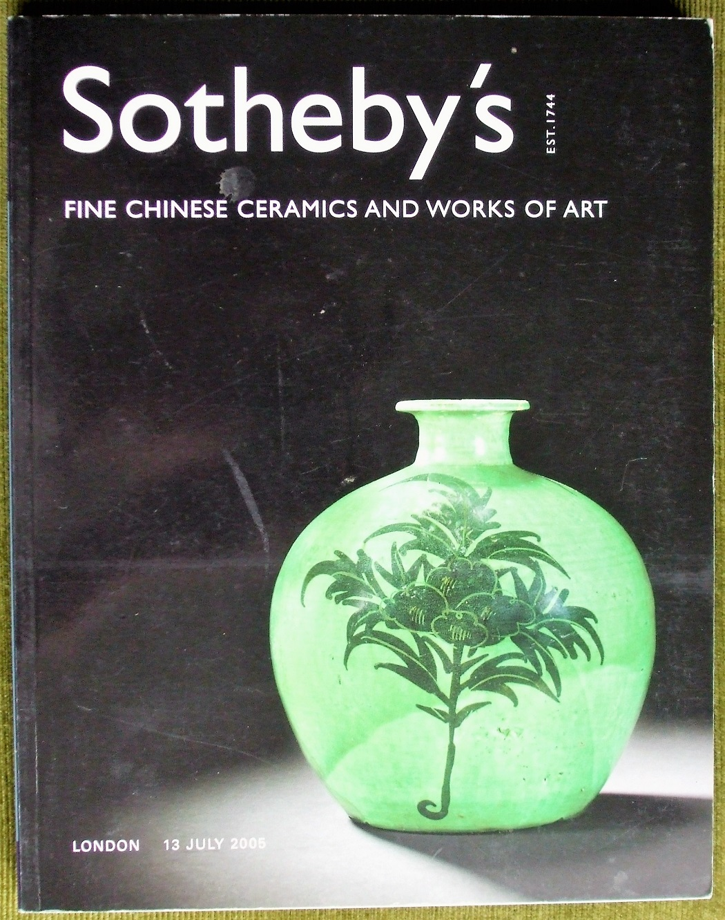S L05211 Fine Chinese Ceramics and Works of Art L 13. 07. 2005