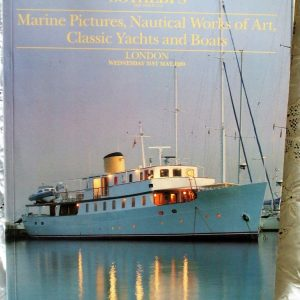 S MOONBEAM Marine Pictures Nautical Works of Art Classic Yachts and Boats L 31. 05. 1989 2