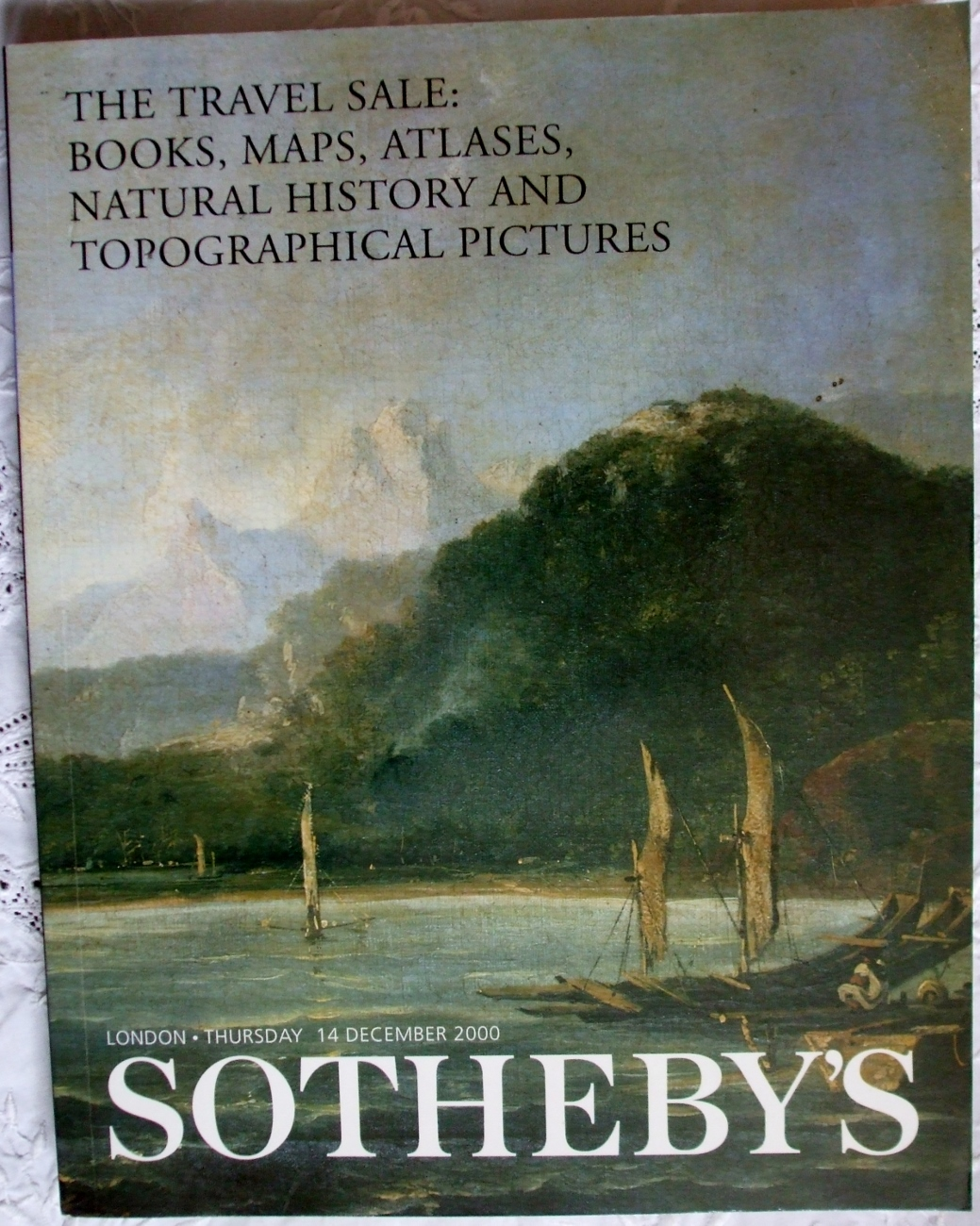 Sotheby's The Travel Sale London 14. 12. 2000