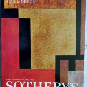 Sothebys 20th Century Decorative Arts And Design 20 April 2001