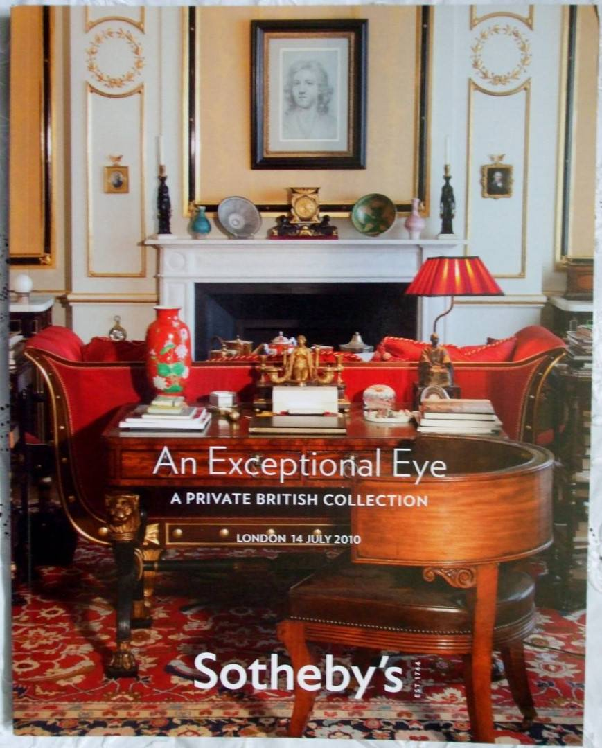 Sothebys An Exceptional Eye 14 July 2010