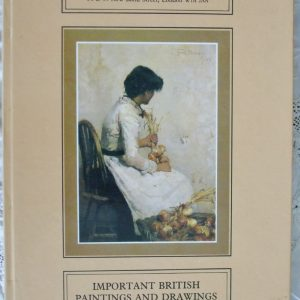 Sothebys British Paintings And Drawings from 1840 to 1960 10 November 1981