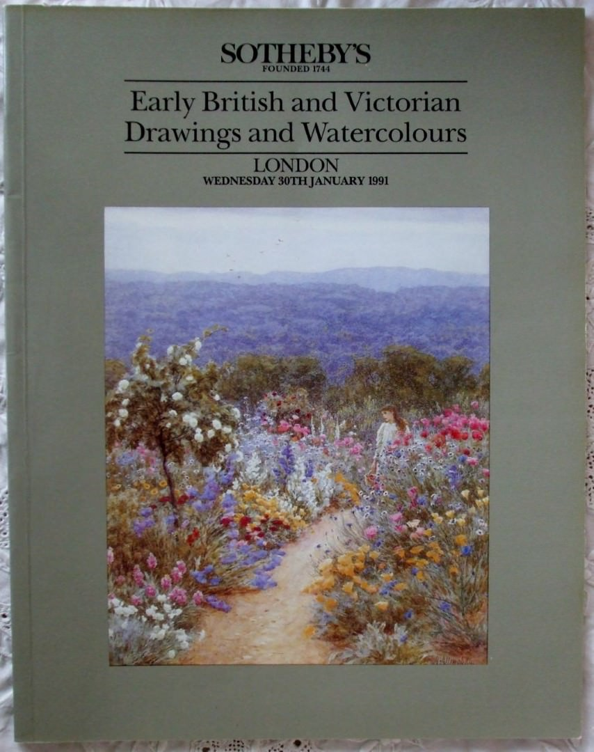 Sothebys Early British And Victorian Drawings And Watercolours 30 January 1991