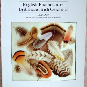 Sothebys English Enamels And British And Irish Ceramics 22 October 1985