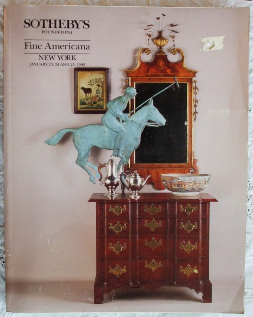Sothebys Fine Americana New York 23 2425 January 1992