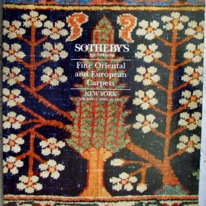 Sothebys Fine Oriental And European Carpets New York 15 April 1993