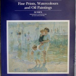 Sothebys Fine Prints Watercolours And Oil Paintings Sussex 25 June 1986
