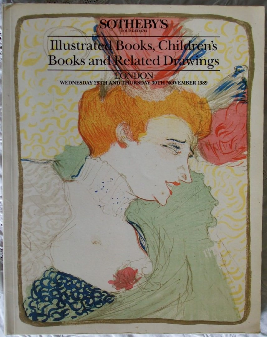 Sothebys Illustrated Books ChildrensBooks Related Drawings 29-30 November 1989