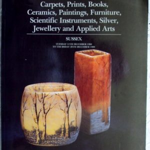 Sotheby's Mixed Sale Sussex 11. - 20. 12. 1990