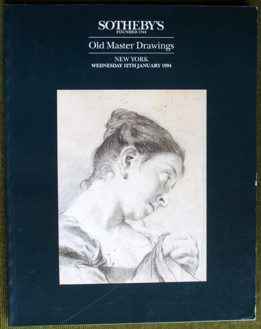 Sotheby S Old Master Drawings New York 01 12 1994