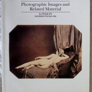 Sothebys Photographic Images Related Material 09 May 1991