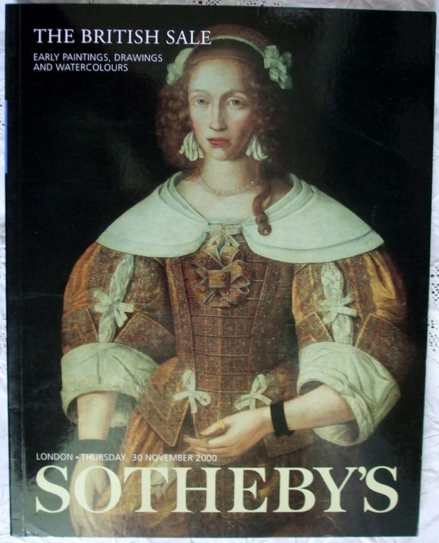 Sothebys The British Sale Early Paintings Drawings and Watercolours 30 November 2000