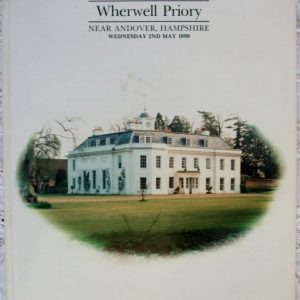 Sothebys Wherwell Priory Andover 02 May 1990
