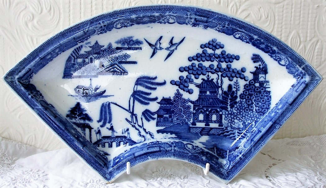 Spode Willow Supper Dish