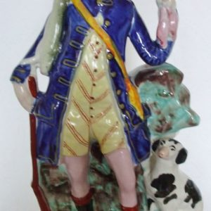 Staffordshire Figure Hunter