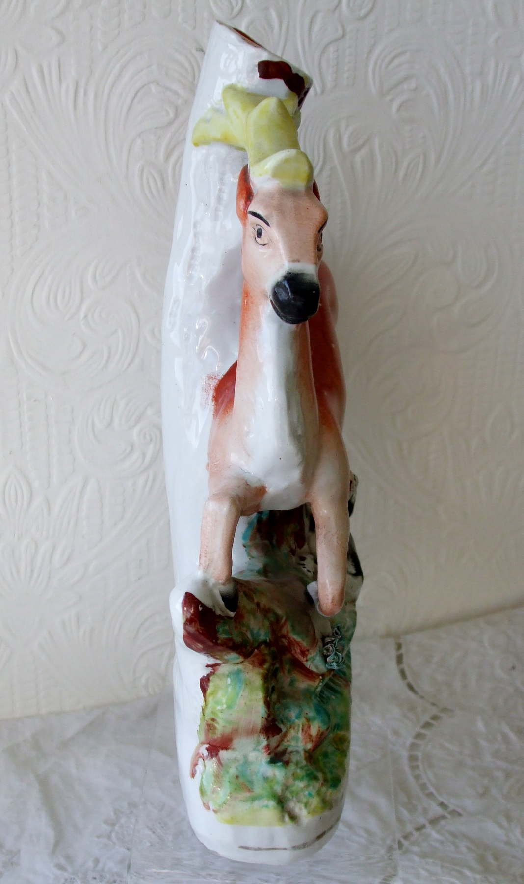 Staffordshire Stag Spill Vase H 2916