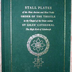 Stall Plates of the Order of the Thistle
