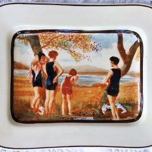 Royal Doulton Surfing Dish