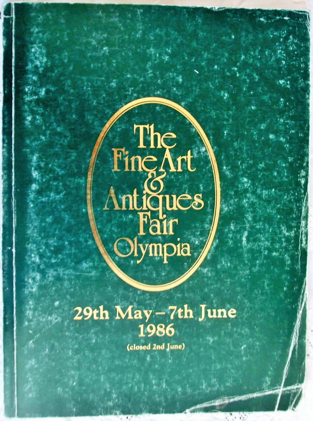 The Fine Art and Antiques Fair Olympia May June 1986
