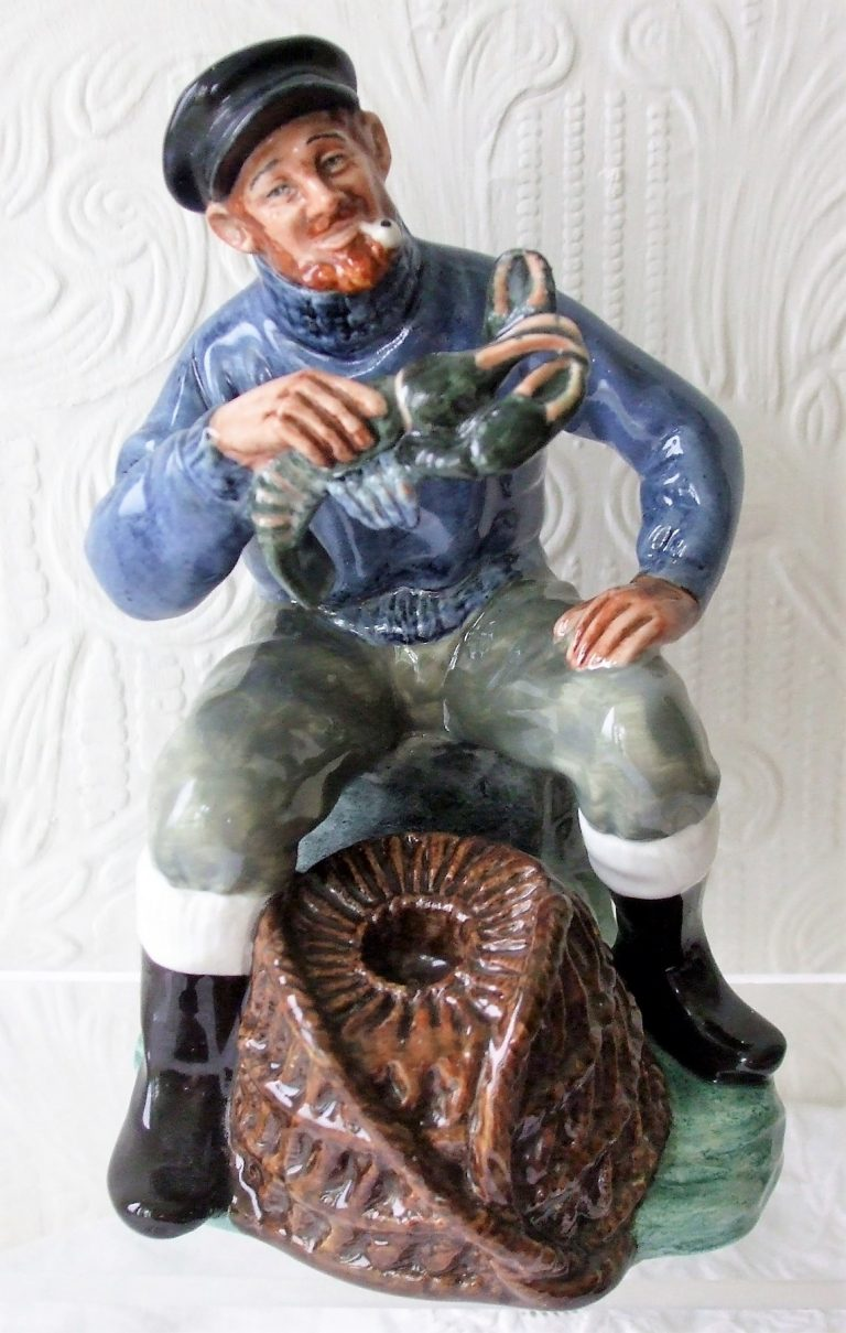 Royal Doulton Figurine The Lobster Man HN 2317