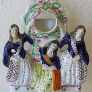 Staffordshire Watch Holder The Three Graces H 1795