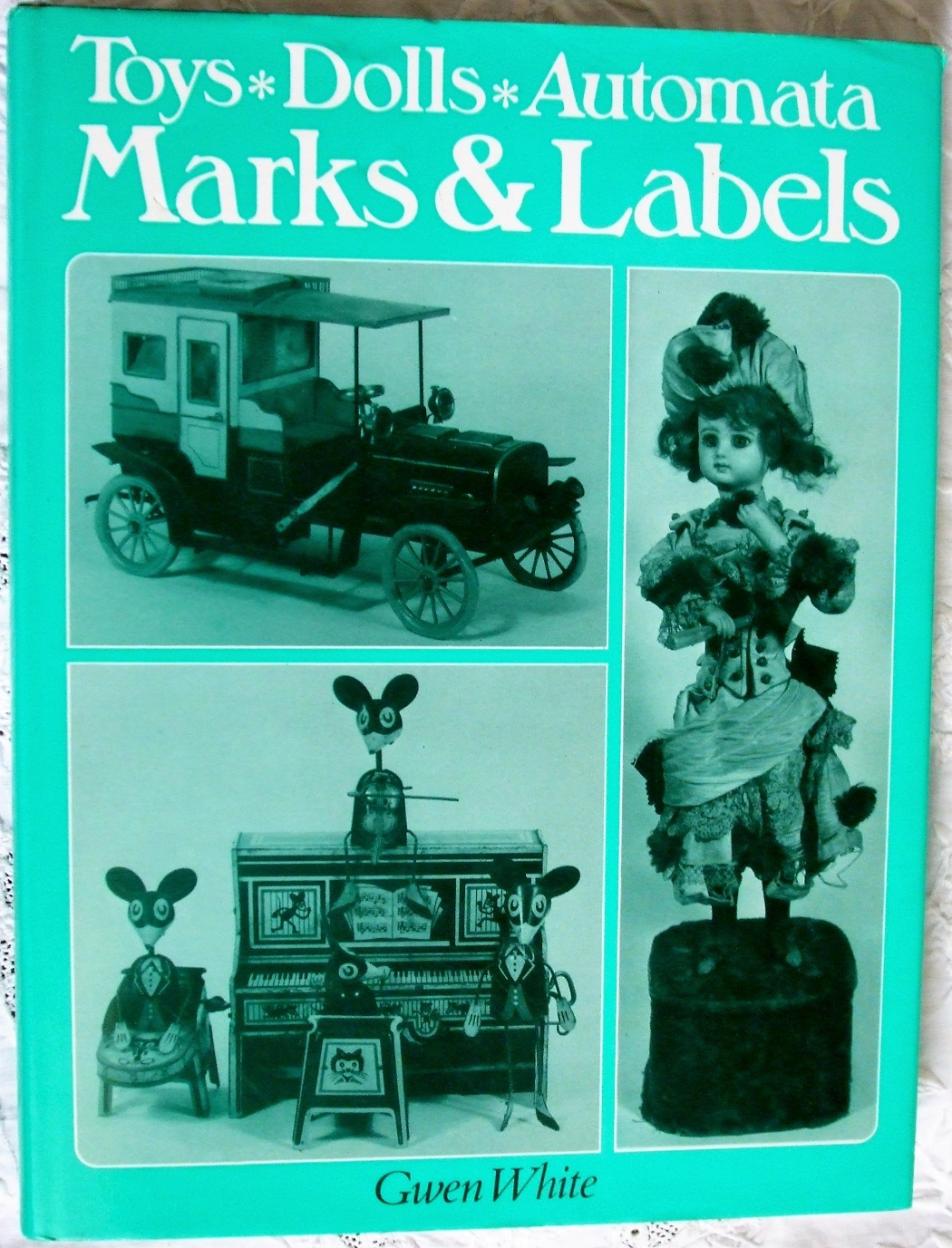 Toys Dolls and Automata Marks and Labels