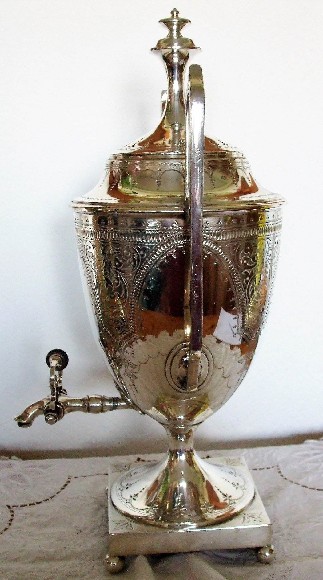 Walker and Hall Silver Plated Samovar