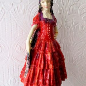 Royal Doulton A Spanish Lady HN 1294