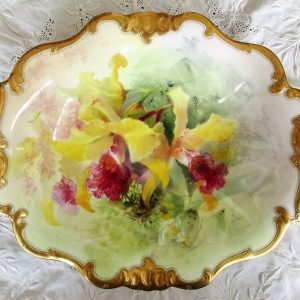 Royal Doulton Dish David Dewsberry Cattleya Dowiana