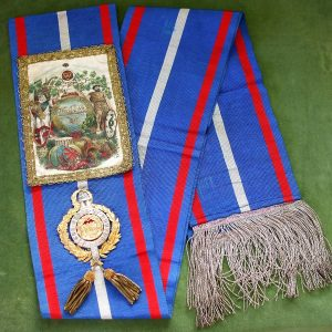 Ancient Order of Druids Ceremonial Sash