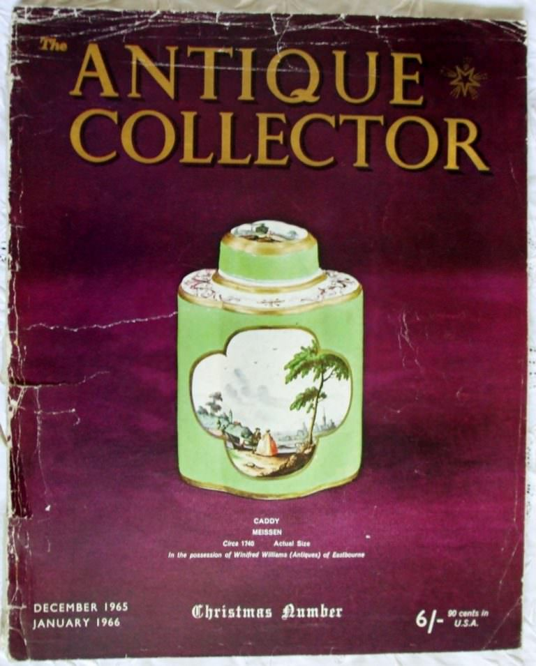 Antique Collector December 1965 January 1966