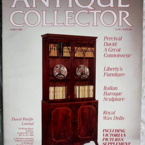 Antique Collector March 1986