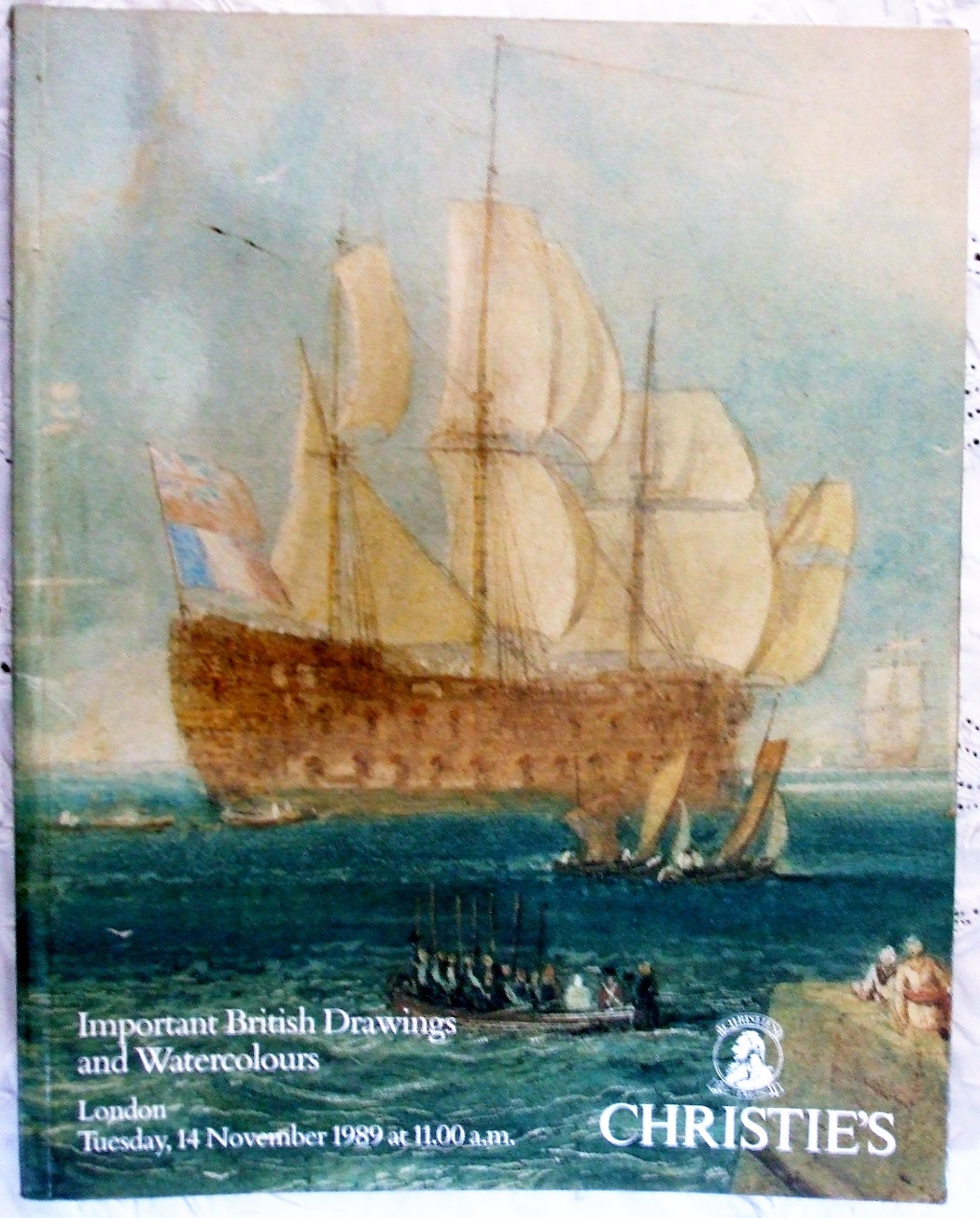 C DRESDEN-4161 Important British Drawings and Watercoours L 14. 11. 1989